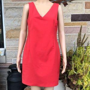 Zara V-neck Sheath Dress